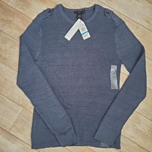 Calvin Klein Jeans Men's Ted Knit Crewneck Sweater